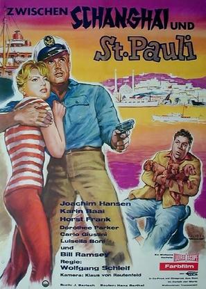 Zwischen Schanghai und St. Pauli - German Movie Poster (thumbnail)