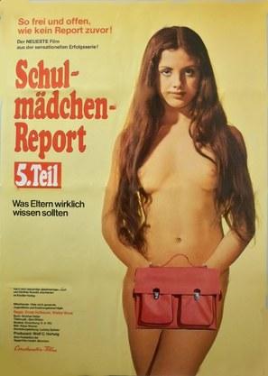 Schulmädchen-Report 5. Teil - Was Eltern wirklich wissen sollten - German Movie Poster (thumbnail)