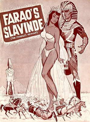 La donna dei faraoni - Danish Movie Poster (thumbnail)