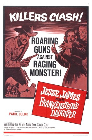 Jesse James Meets Frankenstein's Daughter - Movie Poster (thumbnail)