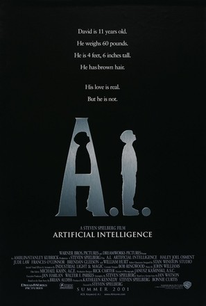 Artificial Intelligence: AI - Movie Poster (thumbnail)