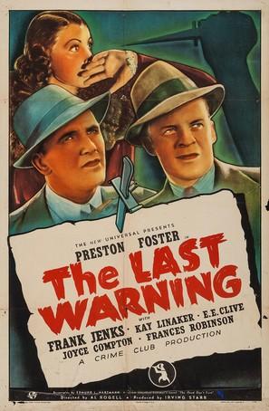 The Last Warning - Movie Poster (thumbnail)