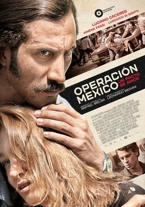 Operación México, un pacto de amor - Argentinian Movie Poster (thumbnail)
