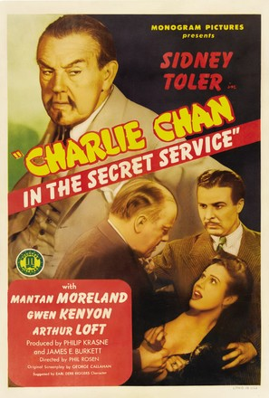 Charlie Chan in the Secret Service - Movie Poster (thumbnail)