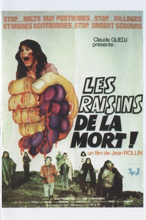 Les raisins de la mort - French Movie Poster (thumbnail)