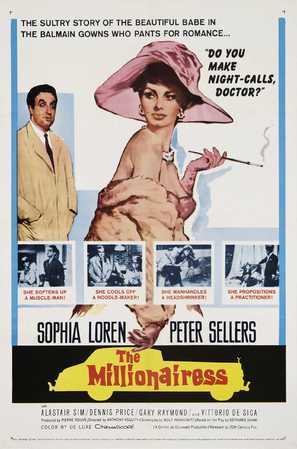 The Millionairess - Movie Poster (thumbnail)