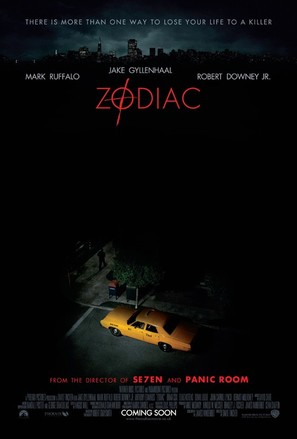 Zodiac - British Theatrical movie poster (thumbnail)