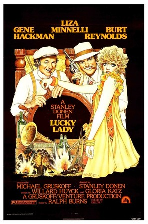 Lucky Lady - Movie Poster (thumbnail)