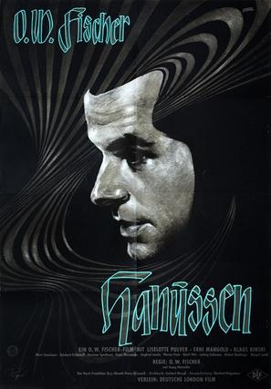 Hanussen - German Movie Poster (thumbnail)