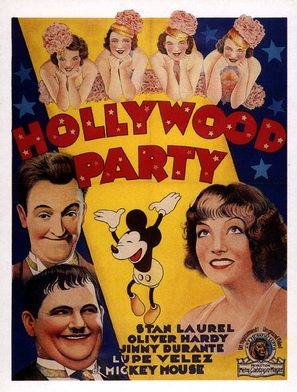 Hollywood Party - Movie Poster (thumbnail)
