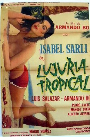 Lujuria tropical - Italian Movie Poster (thumbnail)