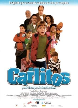 Carlitos y el campo de los sueños - Spanish Movie Poster (thumbnail)