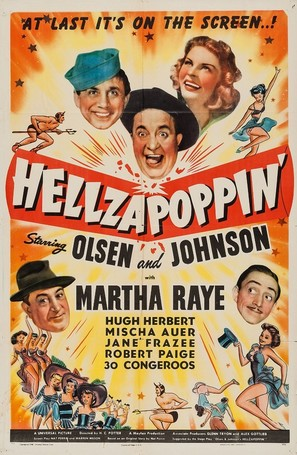 Hellzapoppin - Movie Poster (thumbnail)