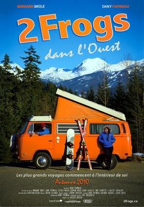 2 Frogs dans l'Ouest - Canadian Movie Poster (thumbnail)