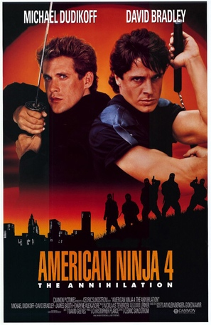 American Ninja 4: The Annihilation - Movie Poster (thumbnail)