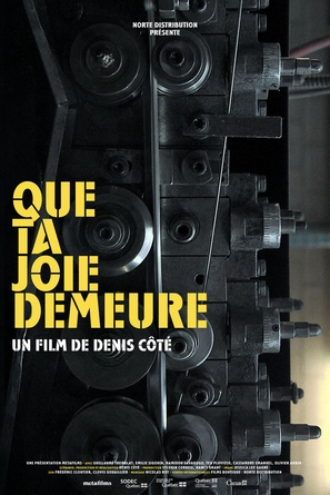 Que ta joie demeure - French Movie Poster (thumbnail)