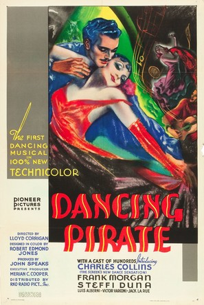 Dancing Pirate - Movie Poster (thumbnail)