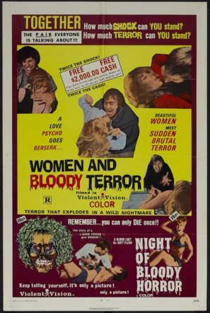 Women and Bloody Terror - Movie Poster (thumbnail)