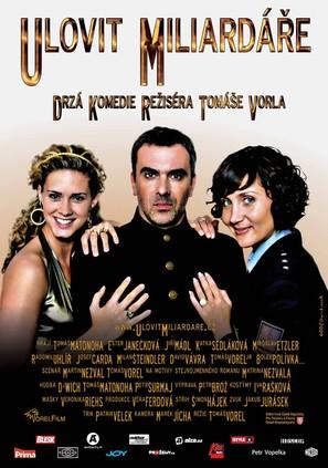 Ulovit miliardare - Czech Movie Poster (thumbnail)