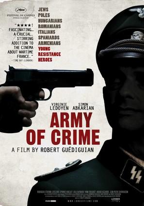 L'armée du crime - Movie Poster (thumbnail)