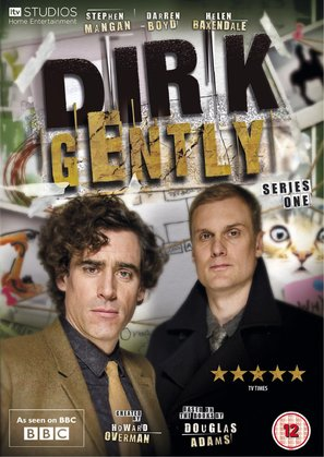 """Dirk Gently"" - British DVD movie cover (thumbnail)"