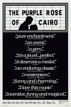 The Purple Rose of Cairo - Theatrical movie poster (thumbnail)