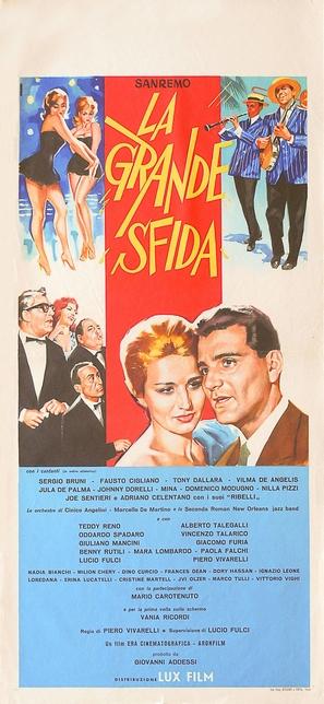 Sanremo - La grande sfida - Italian Movie Poster (thumbnail)