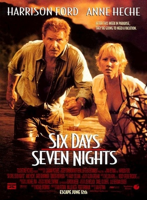 Six Days Seven Nights - Advance movie poster (thumbnail)