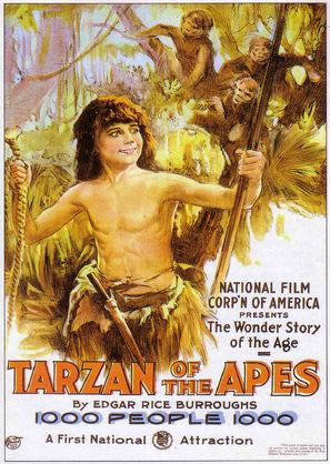 Tarzan of the Apes - Movie Poster (thumbnail)