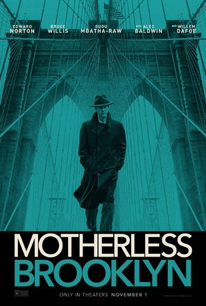 Motherless Brooklyn - Movie Poster (thumbnail)