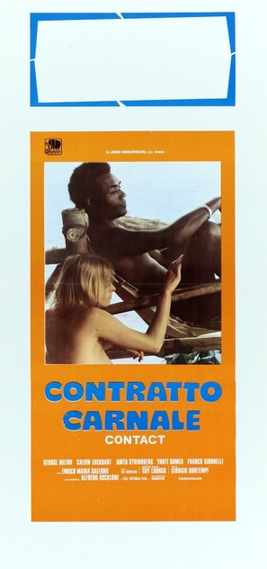 Contratto carnale - Italian Movie Poster (thumbnail)