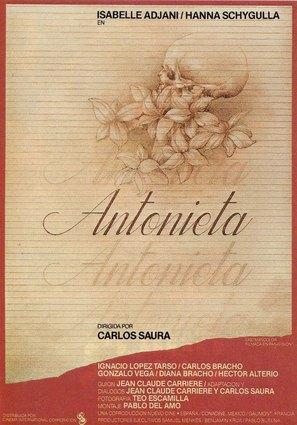 Antonieta - Spanish Movie Poster (thumbnail)