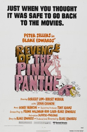 Revenge of the Pink Panther - Movie Poster (thumbnail)