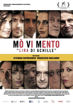 Mò Vi Mento - Lira di Achille - Italian Movie Poster (thumbnail)