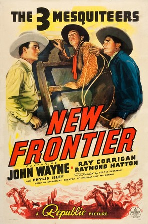 New Frontier - Movie Poster (thumbnail)