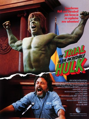 The Trial of the Incredible Hulk - Movie Poster (thumbnail)