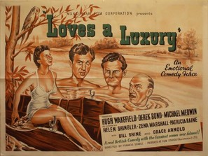 Love's a Luxury - British Movie Poster (thumbnail)