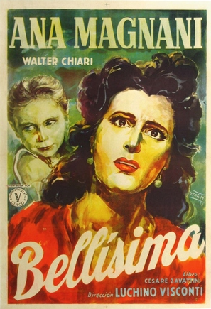 Bellissima - Argentinian Movie Poster (thumbnail)