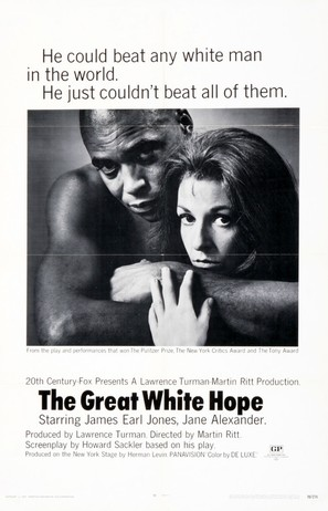 The Great White Hope - Movie Poster (thumbnail)