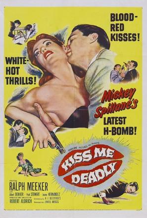 Kiss Me Deadly - Movie Poster (thumbnail)