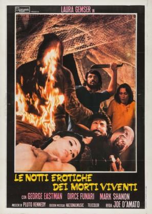 Le notti erotiche dei morti viventi - Italian Movie Poster (thumbnail)