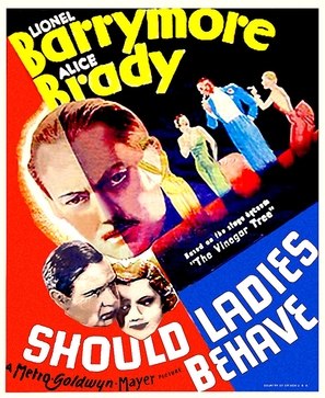 Should Ladies Behave - Movie Poster (thumbnail)
