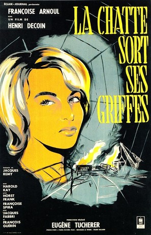 La chatte sort ses griffes - French Movie Poster (thumbnail)