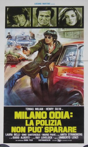 Milano odia: la polizia non può sparare - Italian Movie Poster (thumbnail)