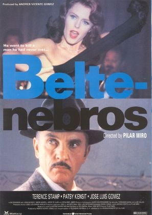 Beltenebros - Spanish Movie Poster (thumbnail)