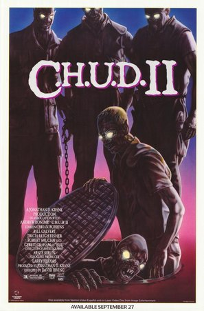 C.H.U.D. II - Bud the Chud - Movie Poster (thumbnail)