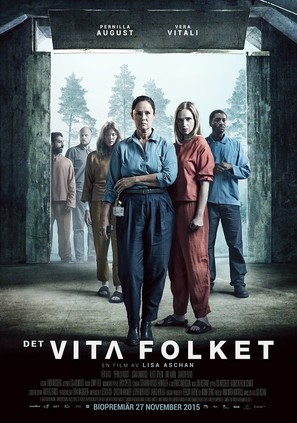 Det vita folket - Swedish Movie Poster (thumbnail)