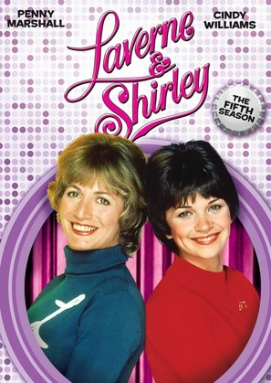 """""""Laverne & Shirley"""" - DVD movie cover (thumbnail)"""