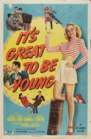 It's Great to Be Young - Movie Poster (thumbnail)