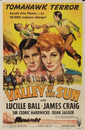 Valley of the Sun - Re-release movie poster (thumbnail)